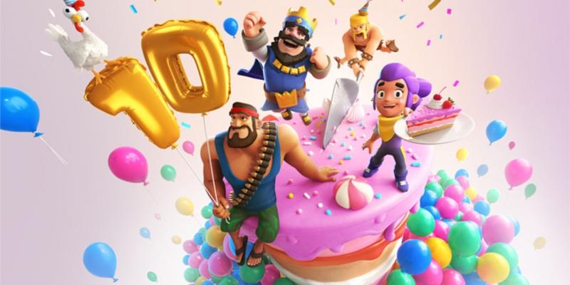 Clash Royale celebra i 10 anni dei suoi creatori